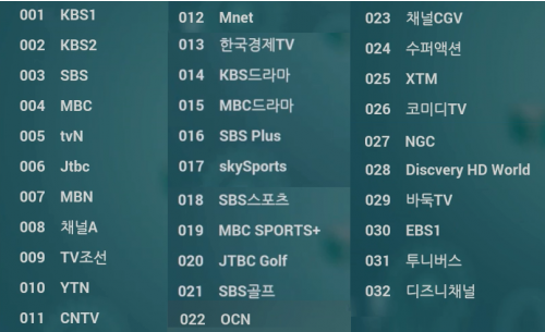 iFamily TV - Korean Channels
