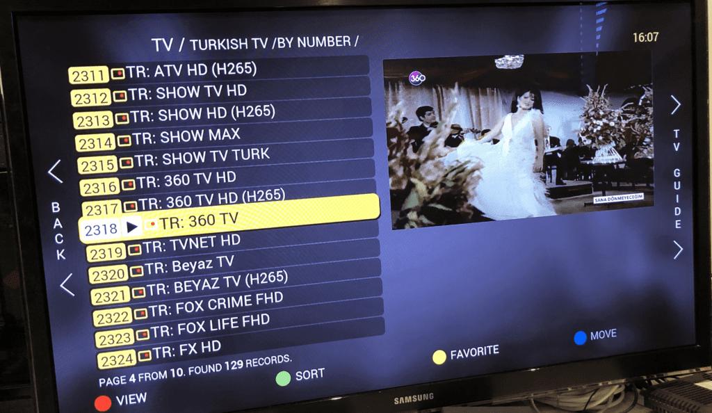 Streaming Turkish TV - Streaming TV Asia