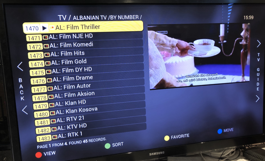 Streaming Albanian TV - Streaming TV Asia